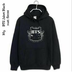 BTS KPOP Jaket Hoodie  - Korean Style Fleece - Butik Bajuku
