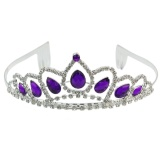 Top 10 Bu Wedding Bridal Ungu Crystal Rhinestone Putri Kontes Tiara Crown Headband Intl Online