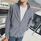 Toko Musim Gugur Dan Musim Dingin Bulu Muda Siswa Jaket Pria Kaos Sweater Abu Abu 1 Anggota Terlengkap Tiongkok