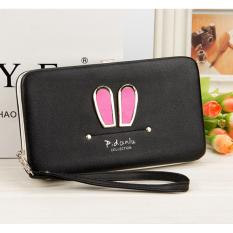 Harga Bunny Clutch Dompet Wanita Pidanlu Korea Style Womens Clutches Wallet Hitam Branded