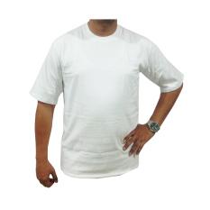 Bursa Kaos Polos - Kaos Polos Big Size Lengan Pendek - 4L - Putih