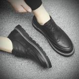 Bullock Korea Fashion Style Sepatu Pria Kasual Sepatu Pria 2018 Sol Hitam Hitam Di Tiongkok