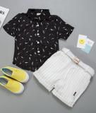 Jual Kemeja Anak Anak Lengan Pendek Kemeja Modis Bulu Z3008 Hitam Kemeja Y034 Bergaris Celana Di Tiongkok