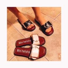 Spesifikasi Busana Musim Panas Perempuan Non Slip Sandal Kata Tarik Sandal Sandal Hitam Direkomendasikan Beat Kode Mahasiswa Online