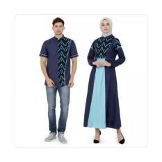 Busana Muslim Baju Couple Baju Pasangan Baju Pesta Pasangan Baju Koko Distro Java Gamis Seven TTK 005 TTK 006