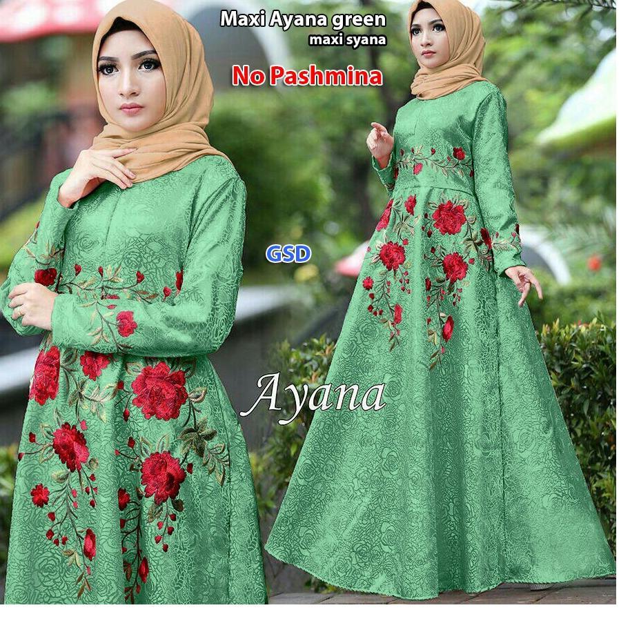 Gamis Info Harga Promo Berbagai Macam Produk Terbaru Dress Cantika Dr Baju Muslim Anak Perempuan Spandek Biru Busana Maxi Wanita Longdress Ayana