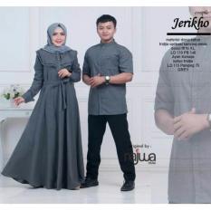 Busana Muslim Couple Jericho Terbaru - Gamis Couple Sarimbit