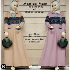 Toko Busana Muslim Monica Maxi Set 6894 Terbaru Murah Di Dki Jakarta