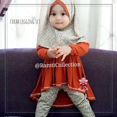 busana muslim surabaya l baju anak termurah l farah