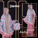 Spesifikasi Busana Muslim Zaleeka Mukena Aulia Dusty Pink All Size Zaleeka Terbaru