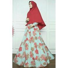 Harga Termurah Busana Muslim Syar I Wanita Bermotif Cantik