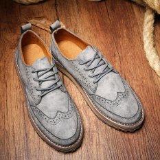 Toko Busine Sepatu Kulit Untuk Pria Perhiasan Logam Campuran Fashion Sepatu Kasual Intl Oem