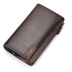 Beli Bisnis Kenyamanan Top Kapasitas Litchi Pattern Zipper Man Purse Hand Bag Intl Baellerry