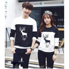 Pusat Baju Couple Online - Fashion Pakain Pasangan / Kembar - Kapel LP Rusa Kombinasi