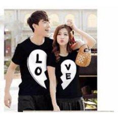 Supplier Baju Couple Online - Kaos Kapel pasangan - Pakaian Kapelan - Pasangan - Samaan - Kekasih