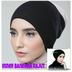 Jfashion Ciput Inner Bandana Hijab Rajut Polos Anti Pusing - Ciput rajutIDR13112. Rp 13.950