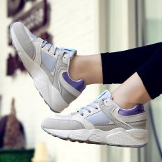 Diskon Byl S Korean Sports Female Casual Breathable Running Shoes White Blue Other Di Tiongkok