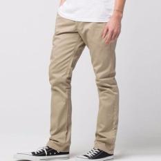 Review Terbaik C156 Celana Chinos Pants Slimfit Premium