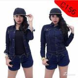 Review C156 Jaket Denim Wanita Garment Jawa Barat