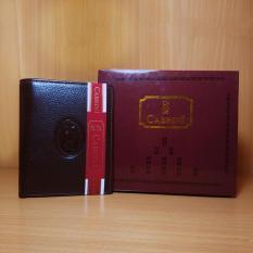 Jual Cabrini Fashion Wallet Dompet Pria 12 96 Genuine Leather Kulit Asli Original Black Online