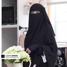 Jual Cadar Yaman Dua Layer Ceruti Babydoll Di Indonesia