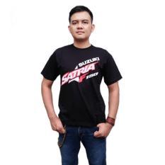 Kaos Satria Fu003 Distro Bikers Motor Otomotif Baju Bonus Stiker Cadel Bandung Terbaru