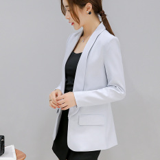 Caidaifei Korea Fashion Style Musim Semi Dan Musim Panas Baru Terlihat Langsing Jas Jas Abu Abu Terang Oem Diskon 50
