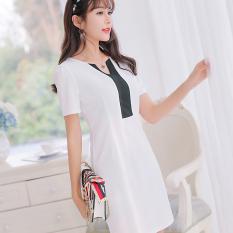 Diskon Caidaifei Korea Fashion Style Musim Semi Dan Musim Panas Baru Slim Rok Dalaman Modis Rajutan Gaun Putih Oem Tiongkok