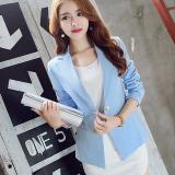 Ulasan Tentang Blazer Slim Wanita Gaya Korea Biru Langit R8018 Biru Langit R8018