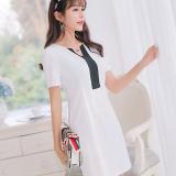 Jual Caidaifei Korea Fashion Style Musim Semi Dan Musim Panas Baru Slim Bottoming Rok Busana Rajut Dress Putih Putih Baru
