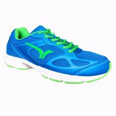 Harga Calci Running Shoes Sepatu Lari Dallas M Blue Green Terbaik