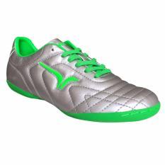 Beli Barang Calci Sepatu Futsal Wrath Silver Green Online