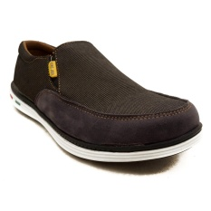 California DENIM Unlocked Sepatu Slip on Kanvas (King Java Edition)