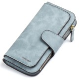 Spesifikasi Callaghan Rfid Blocking Leather Wallet For Women Clutch Purse Bifold Ladies Checkbook Card Holder Organizer Intl Terbaru
