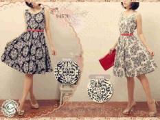 Callie Shop Dress Etnik 94570 - (Hitam)