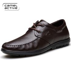 Penawaran Istimewa Camel Active Sepatu Kulit Jerman Pria Santa 1758 Coklat 1758 Coklat Terbaru