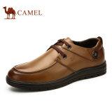 Spesifikasi Onta Inggris Gaya Pria Sepatu Kulit Asli Mode Coklat Camel