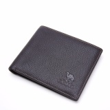 Jual Camel Men S Fashion Business Casual Genuine Cow Leather Wallet Coffee Intl Satu Set