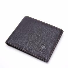 Harga Camel Men S Fashion Business Casual Genuine Cow Leather Wallet Coffee Intl Baru
