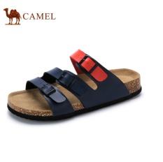 Camel Men's Fashion Kasual Sandal English. Sepatu (Biru)