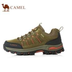 Ongkos Kirim Camel Men S Outdoor Sport Sepatu Pasangan Lace Up Hiking Sepatu Khaki Intl Di Tiongkok