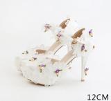 Harga Amelia Bunga Betina Renda Sandal Tumit Tinggi 12 Cm Sandal Summer A Model 12 Cm Sandal Summer A Model Online
