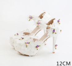Beli Amelia Bunga Betina Renda Sandal Tumit Tinggi 12 Cm Sandal Summer A Model 12 Cm Sandal Summer A Model Pakai Kartu Kredit