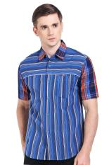 Canting Hijau  Men Clothing Shirts Casual Shirts  Pria Pakaian Kemeja Kasual Shirts Blue Biru Batik Diskon discount murah bazaar baju celana fashion brand branded