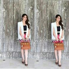 Review Tentang Cape Blazer Dear My Cs Scroll Gambar Kesamping