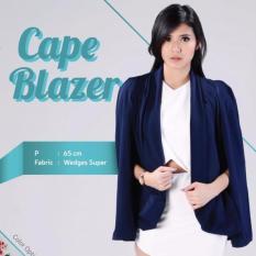 Beli Cape Blazer Navy Nyicil