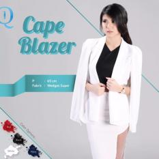 Model Cape Blazer White Terbaru