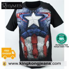 Harga Kaos Big Size Spandex Superhero 2 Jawa Barat