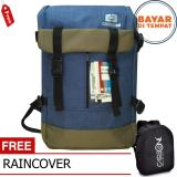 Obral Carboni Backpack Outdoor Waterproop Tas Ransel Ra00040 40L Semi Tas Gunung Blue Raincover Murah