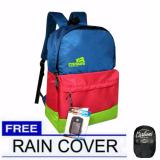Beli Carboni Backpack Rainbow Trendy Tas Ransel Casual Laptop Ra00077 15 Blue Original Raincover Seken